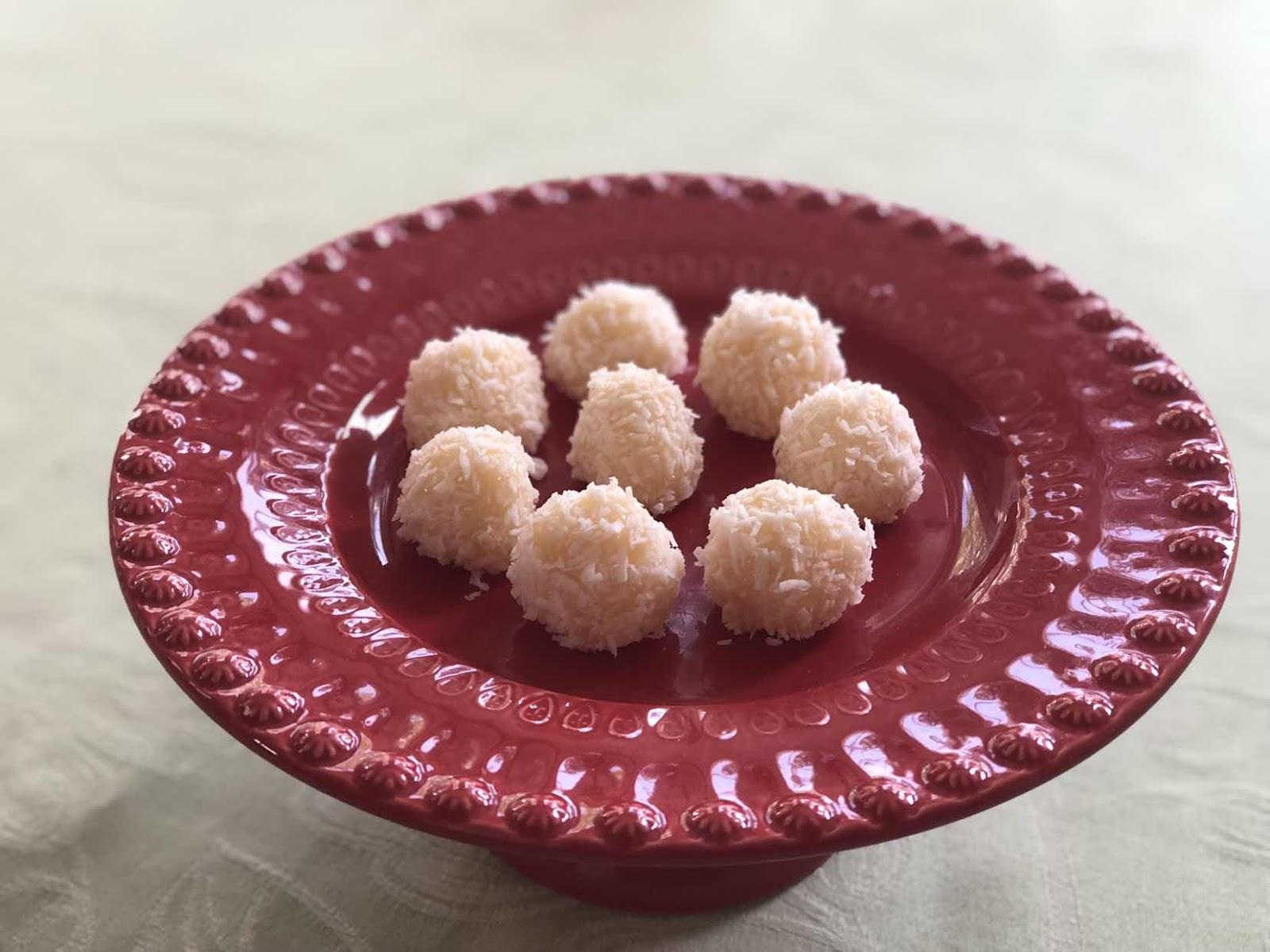 Recept på brasilianska bollar med kokos