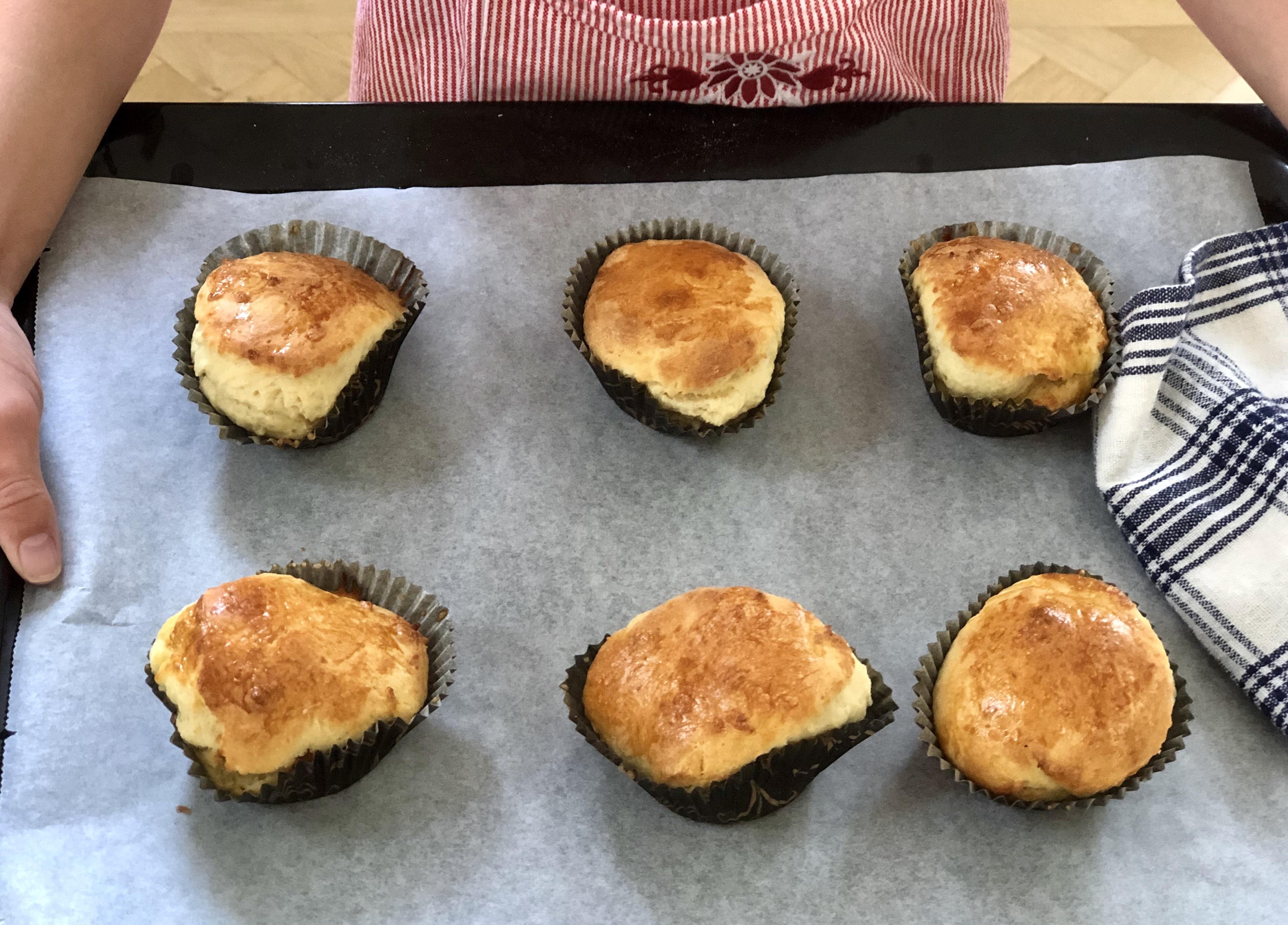 Engelska scones frukost