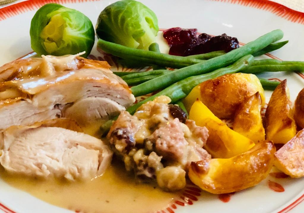 Recept kalkon fyllning jul thanksgiving