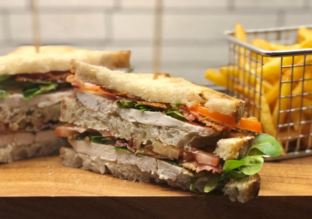 Club sandwich recept kyckling original