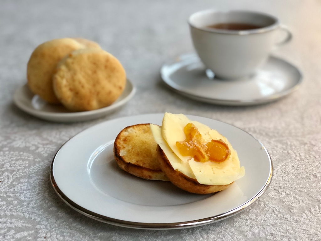 English muffin engelska muffins recept Cheese muffin ostmuffins
