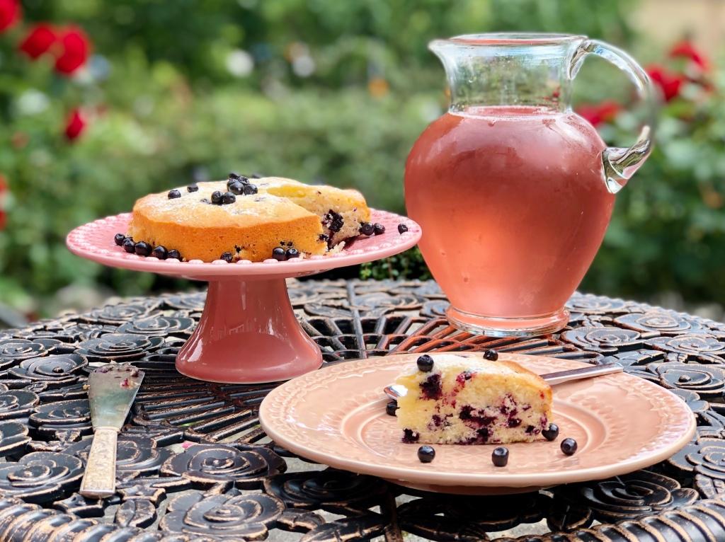 Recept blåbärskaka sockerkaka med blåbär kaka